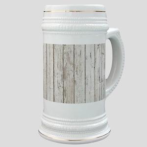 shabby chic white barn wood Stein
