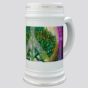 Tree of Life World Peace Stein