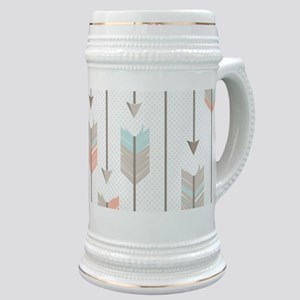 Bohemian Tribal Arrows Pattern Stein