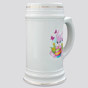 Pink Easter Bunny Stein