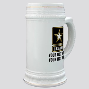 CUSTOM TEXT U.S. Army Stein