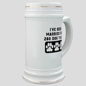 40th Anniversary Dog Years Stein