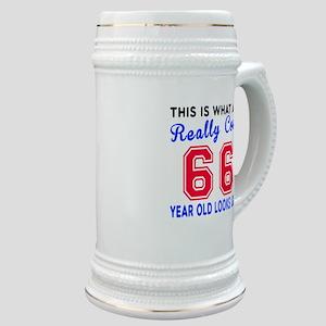 Really Cool 66 Birthday Designs Stein