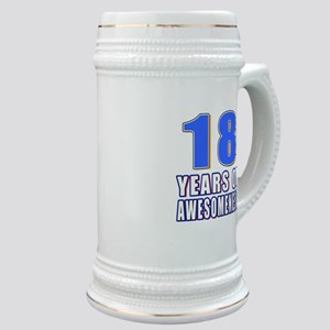 18 Years Of Awesomeness Stein