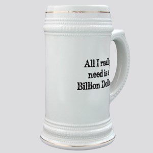 A Billion Dollars Stein