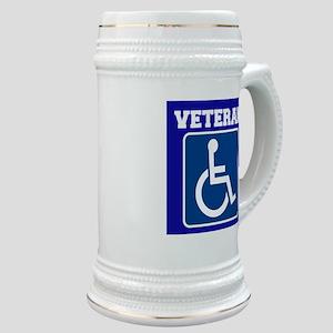 Disabled Handicapped Veteran Stein