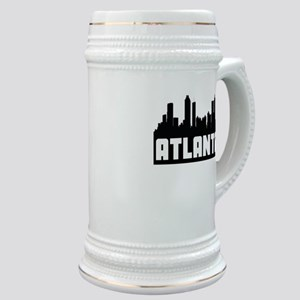 Atlanta Georgia Skyline Stein