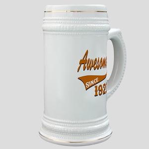 Awesome Since 1927 Birthday Designs Stein