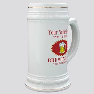 Your Brewing Company Stein