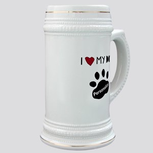 Personalized Dog Stein