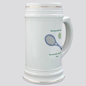 Personalized Tennis Stein