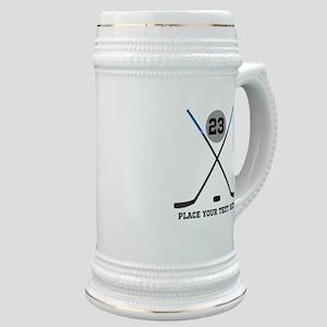 Ice Hockey Personalized Stein