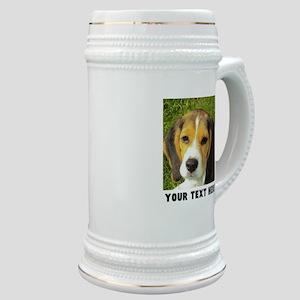 Dog Photo Personalized Stein