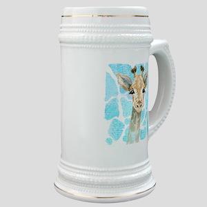 friendly baby giraffe Stein