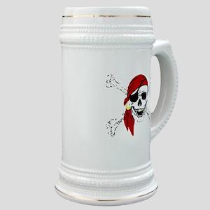 Pirate Skull Stein