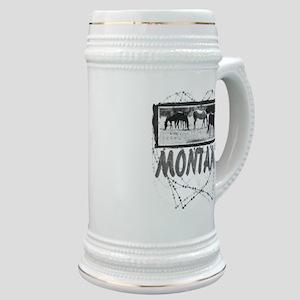 Montana Horses1 Stein