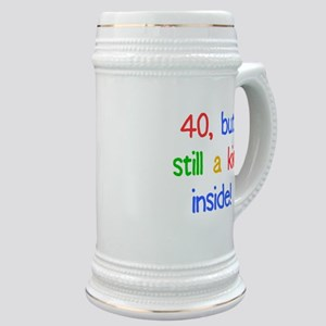 Fun 40th Birthday Humor Stein