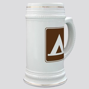 Camping Tent Sign Stein