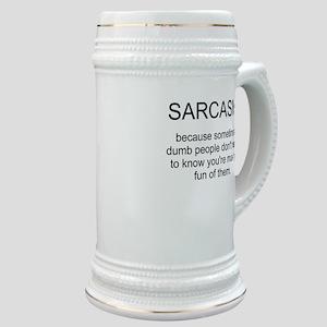sarcasm Stein