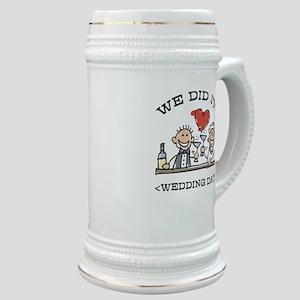 Funny Personalized Wedding Stein