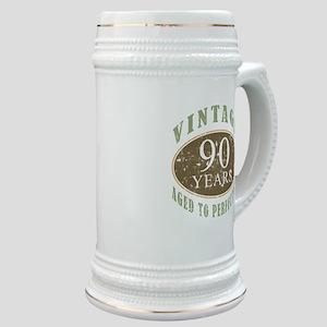 Vintage 90th Birthday Stein