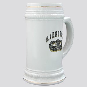 US Army Airborne Wings Silver Stein