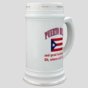 Puerto rican pride Stein