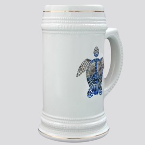 Sea Turtle Peace Stein