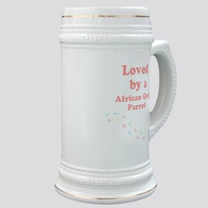 Loved by aAfrican Grey Parrot Stein