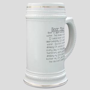 Beer Math Stein