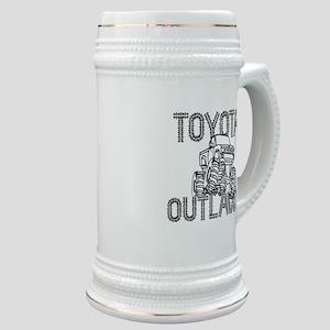 Toyota Outlaws Logo Stein