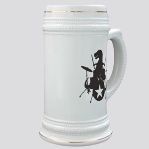 T-Rex Playing the Drums Stein
