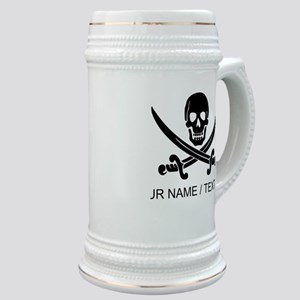 Custom Pirate Stein