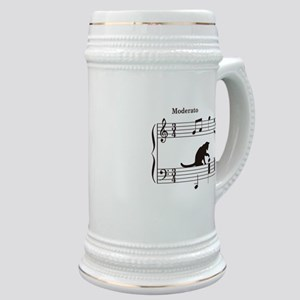 Cat Toying with Note v.2 Stein