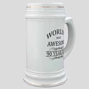 World's Most Awesome 90 Year Old Stein