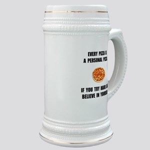 Personal Pizza Stein