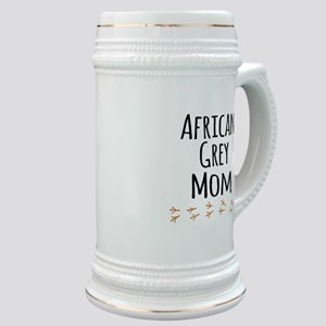 African Grey Mom Stein