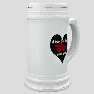 Personalize True Love Story Stein