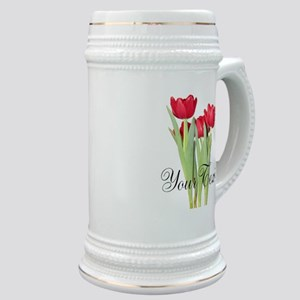 Personalizable Tulips Stein