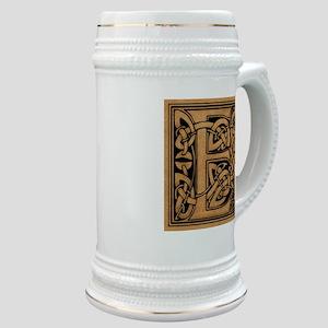 Celtic Monogram E Stein