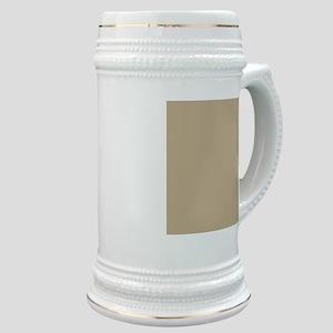 Khaki beige solid colod Stein