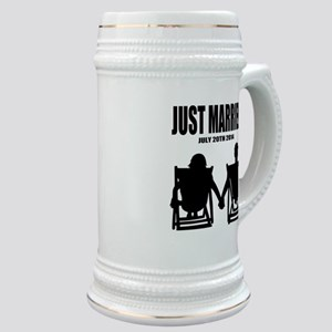Just Married | Personalized wedding Stein