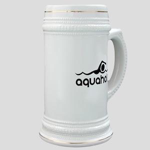 Aquaholic Stein