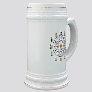 Circle of Whiskey 5th Stein