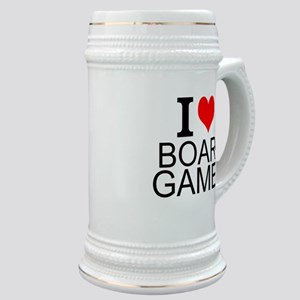 I Love Board Games Stein
