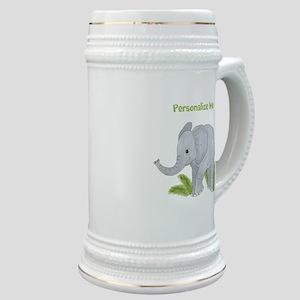 Personalized Elephant Stein
