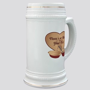 Personalized Cooking Stein