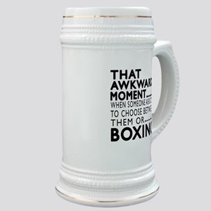 Boxing Awkward Moment Designs Stein