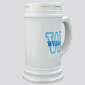 CUSTOM First Initial and Name Stein