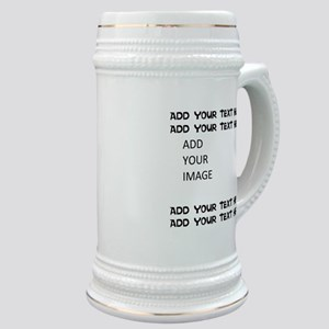 Custom Text and Image Stein